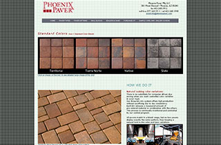 Click Here To View Phoenix Paver Standard Colors